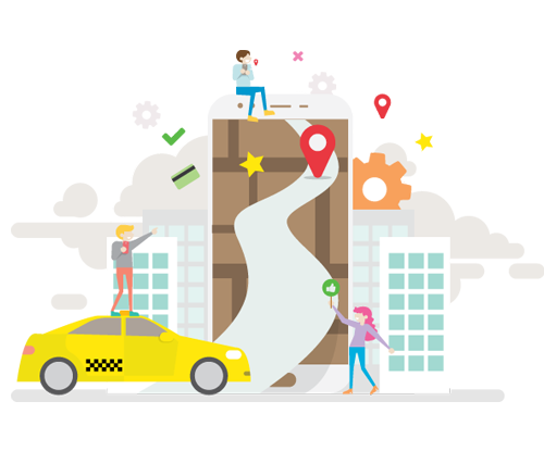 Cab/Taxi Booking Software System | Adore Infotech