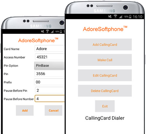 Android Calling Card Dialer