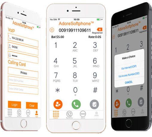 iPhone Twin Mobile Dialer